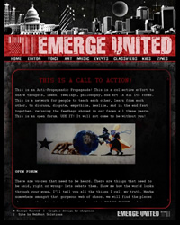 Emerge United website screen shot
