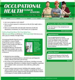 Occupational Health Clinical Centers Website