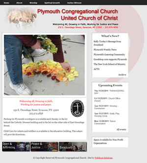 Plymouth Congregational Church Website